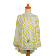MERE ET MOI Apron O - Yellow Stripe [All Size]