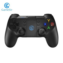 COZIME GameSir T1 Gamepad Controller Backlight Bluetooth Wired Joystick For Gamers Black