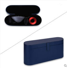Ins I-6025 Simple design Travel Box for Dyson HairDryer-Navy Blue