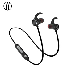 WH X3 Magnetic Metal Bluetooth earbud wireless music earphone In-Ear Stereo Headphone Sport Hifi FM Sweatproof headset for phone