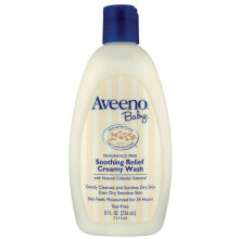 Aveeno Baby Soothing Relief Creamy Wash - 236 ml