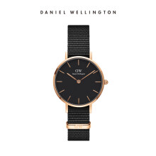 Daniel Wellington Petite Nato Watch Cornwall Black Black 28mm