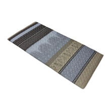 THE LUXE Travelling mattress -Grey Stripe  90x190