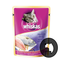 WHISKAS 85 gr adult mackerel