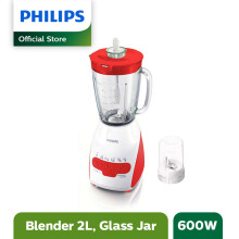 PHILIPS Blender Beling 2 L HR2116/60 - Merah