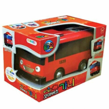 Tayo The Little Bus Friction Bus Gani Red Original - Iconix