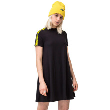 CHEAP MONDAY Womens Mystic Tape Dress [608751] - Black