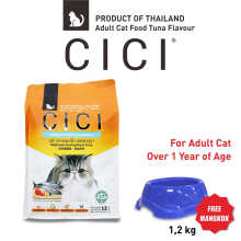 Win Pet Center - CICI Adult Dry Food Tuna 1.2 kg makanan kucing