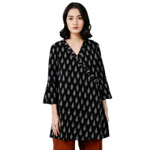 IKAT Indonesia Gema Outerwear Black All Size