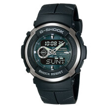 Casio G-Shock G-300-3AVDR Digital Analog Black Resin Band [G-300-3AVDR]