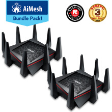 ASUS Aimesh Bundle RT-AC5300 WiFi Tri-band Gigabit Wireless Router 2 Pack