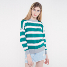 Rave Habbit- Abey Stripe Multicolour Sweater
