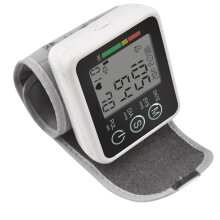 Digital LCD Arm Style Blood-pressure Monitor Health Care With Voice Function Black