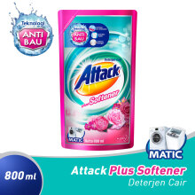 ATTACK Liquid Plus Softener Pouch 800 ml