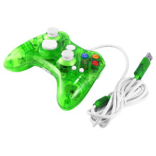 COZIME USB Wired Game Controller for Xbox 360 Joypad Gamepad Joystick with LED Light Blue