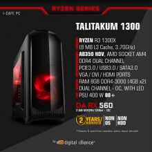 DIGITAL ALLIANCE Talitakum 1300 without HDD - Black