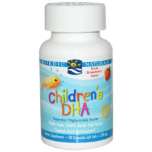 Nordic Naturals Children's DHA - 90 Soft Gels - Strawberry