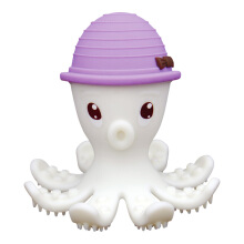Mombella Octopus Teether Toy Doo Purple