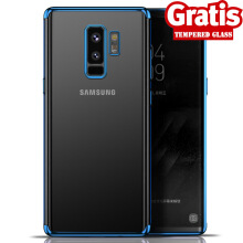 Weika Samsung J6+ Shiny Transparen Bening Ultra Thin TPU Soft Case