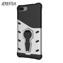 JEREFISH Zenfone 4Max ZC520KL Phone Case Multi-Layer Hybrid Protective Case with 360 Degree Rotating Stand for Cover