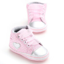 Saneo Beverly Prewalker Baby Shoes Pink 6-12 bln