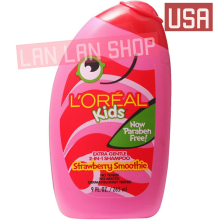 Loreal Loreal Kids 2In1 Shampoo Strawberry Smoothie 9 Fl. Oz