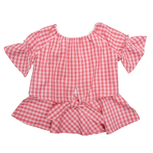 CURLY Checked Blouse Anak Perempuan - LYB02800180