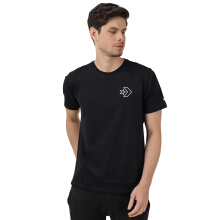 CONVERSE  Lined Star Chevron Short Sleeve Tee - Black