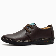 Jantens Leather Men casual shoes Summer Leather Shoes