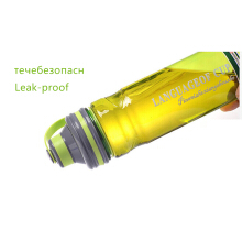 Jantens Space Plastic Water Bottle with Rope Tea Infuser My Outdoor Camping Sport Large Capacity Bottles Green