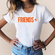 Women Girls Plus Size Print Tees Shirt Short Sleeve T Shirt Blouse Tops