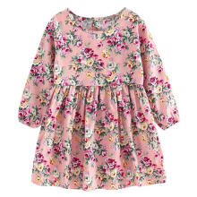 Farfi Toddler Baby Girls Long Sleeve Princess Party Pageant Dress Kids Clothes