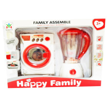 Beezkids - Mainan Blender Mesin Cuci Happy Family White