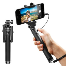 Selfie Stick(Wired version)Global Black