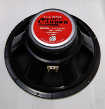 Cannon C 1230 PA Woofer Fullrange Speaker