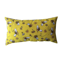 NAMALE Fancy Cushion Regtangular Cute Bee - Yellow