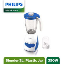 Philips Blender Plastik 2L HR2115/30 - Biru