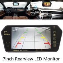 outdoor520 7''TFT LCD Bluetooth Car Rear View Cam Parking Mirror Monitor + Reversing Camera others One size