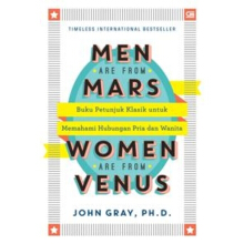 Men Are From Mars, Women Are From Venus (Ed. Revisi) John Gray, Ph.D. - 618221024