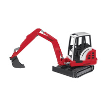 Bruder Toys 2432 Schaeff Hr16 Mini Excavator Mainan Anak - Merah Red Black