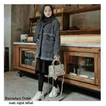 Ramadani Outer - abu tua - All Size