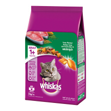 Whiskas Adult Tuna 3 Kg Makanan Kucing Dry Food Whiskas Rasa Tuna