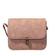 Jantens Women shoulder bag shoulder bag wallet messenger Messenger bag brand 2018 new flip PU leather Pink