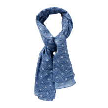 IKAT Indonesia Mickey Special 90 Scarf SC02 - Blue [All Size]