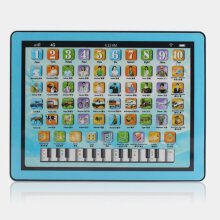 [COZIME] Kids Computer Tablet Touch Screen Learning Machine Early Educational Toy Blue
