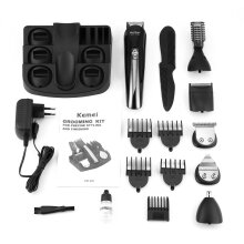 TOWER PRO KEMEI KM-600 Multifunctional Hair Clipper Electric Shaver Beard Trimmer Black