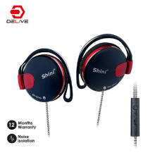 DELIVE 2019 vibrating explosions HIFI sports music earphone with microphone for Samsung xiaomi oppo Apple Computer