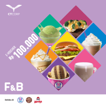 The Coffee Bean & Tea Leaf Voucher Value 100.000
