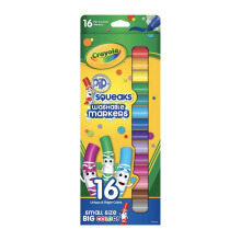 CRAYOLA 16Ct Pip-Squeaks Markers