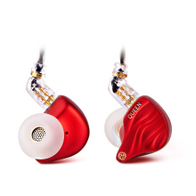 TFZ Queen HiFi In Ear Monitor Earphone with Detachable Cable - Red